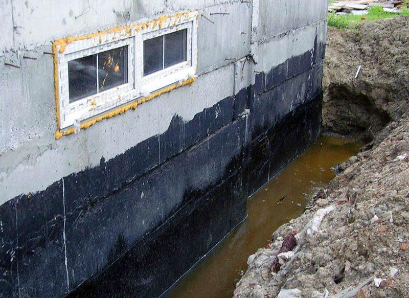 гидроизоляция подвала снаружи