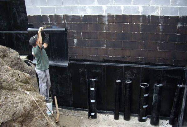 монтаж гидроизоляции
