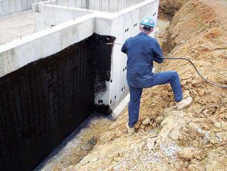 производство гидроизоляционных работ