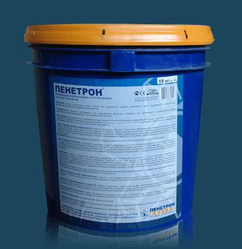 смесь сухая гидроизоляционная проникающая капиллярная марка пенетрон